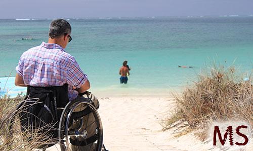 Multiple Sklerose Rollstuhl